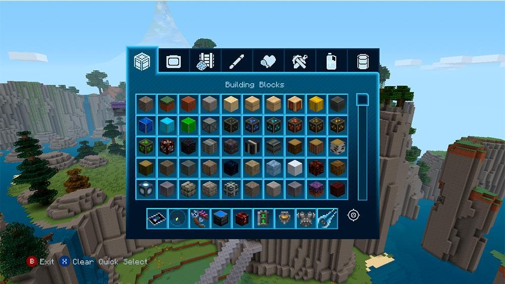 Die Spieler können aus verschiedenen Baublöcken wählen und so ihre Welt individuell gestalten. Und wer sagt, dass es pro Spieler nur ein Haus geben muss? Es ist genug Platz für eine Reihensiedlung da!