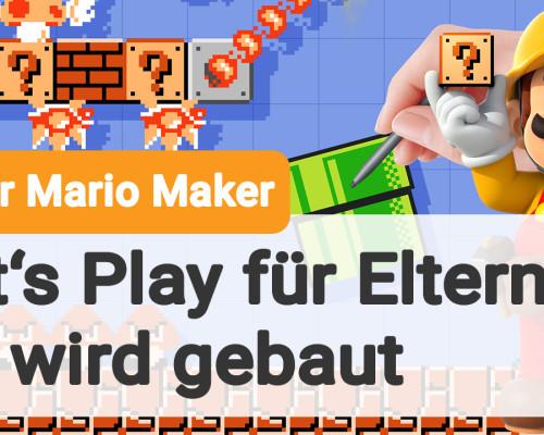 So funktioniert der Super Mario Maker (Gamefamily-Video)
